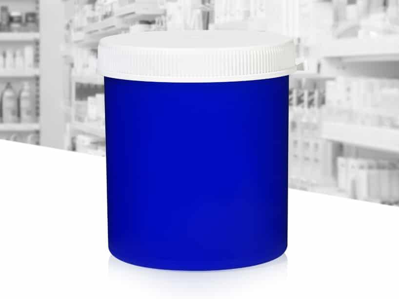 Pot blauw